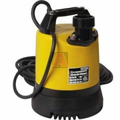 Wacker Neuson 0620412 Submersible Pump, 62.4 gpm, 2 Inch NPT, 40 ft Head, 1 Phases, 0.64 hp, 110 volt, 12.5 amp, 3255 Rpm