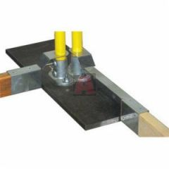 Guardian 15180 Base Plate for Safety Rails