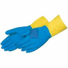 Chemical Resistant Liquid Proof Unsupported Gloves, 28 mil, Large