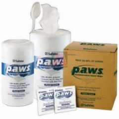 Individually Wrapped P.A.W.S. Antimicrobial Hand Wipes, (100) Per Box, (10) Boxes Per Case