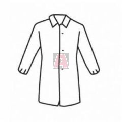 West Chester 3512 Standard Weight Lab Coat with Long Sleeve, 3XL