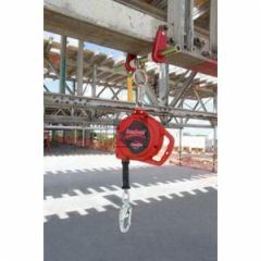 DBI Sala Protecta - Rebel 3590500 Self-Retracting Lifeline with Swiveling Snap Hook, 3/16 Inch Dia, 33 ft L Working, 420 lb Load, Thermoplastic