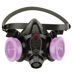 North 770030 Half Face Respirator with Nosecup, Medium