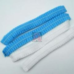 "21"" Bouffant Caps,Non-Woven Pp Material, Gathered, (1000) Per Dispenser Case"