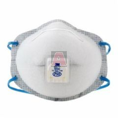 3M Cool Flow 8577 Disposable Particulate Respirator with Nuisance Level Acid Gas Relief, Universal, P95, 0.95 Efficiency, Dual Elastic