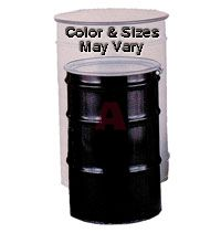 17H Reconditioned 55 Gallon Steel Open Head 3 Ring Drum
