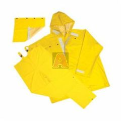 Yellow-3X Hydroblast Chemical Suit, Size 3XL