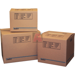 "Pack-it Large Carton Packaging Box, 4.5 Cu-ft, 18"" X 18-1/2 "" X 24"""