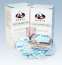 Aegis Alcohol Respirator Wipes