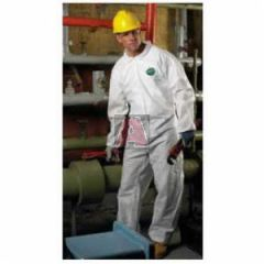 Lakeland C8414B-3X Blue Sms Safegard Coveralls with Hood and Boots, Elastic Back, Waist, and Ankles, Size 3XL, -25 Per Case