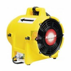 "Euramco Ed7015 Ub20 8"" 1/3Hp 115V Electric Ac Blower / Exhauster with 15' Duct and Quick Couple Canister"