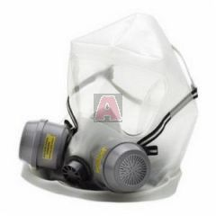 North Er2000CBRN Emergency Escape CBRN Respirator with Hood, Cartridges and Carry Bag