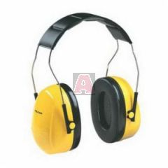 Peltor H9A Optime 98 Yellow Over-The-Head Earmuff Nrr25Db Hearing Protector