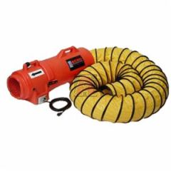 "Euramco K2025 8"" 20Cm Blower Exhaust with 8 1/2"" X 25' Duct Canister Attachment"