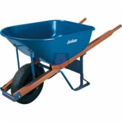 Jackson Wheelbarrow, 6 Cubic Feet Blue