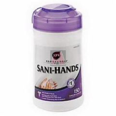 Sani-Hands Instant Hand Sanitizing Wipes, (150) Each Per Canister, P43572