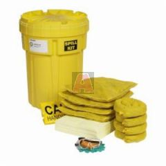 Poly-Overpack SPKHZ-30 Spill Kit, Salvage Drum, Polyethylene, 23 Inch Dia x 30 Inch L