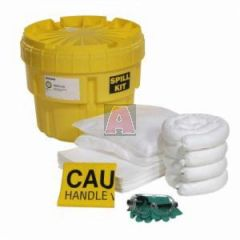 Oil Only 16.4 Gallon Capacity 20 Gallon Poly-Overpack Salvage Drum Spill Kit
