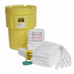Oil Only 51.1 Gallon Capacity 65 Gallon Poly-Overpack Salvage Drum Spill Kit