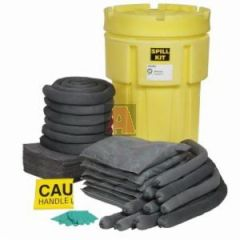 Universal 51.1 Gallon Capacity 65 Gallon Poly-Overpack Salvage Drum Spill Kit