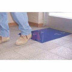"36"" X 45"" Blue Tacky Clean Mat with 30 Layers, (4) Mats Per Case High Tack, Surface Shield Cm3645B4"