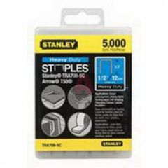 """Stanley Tra708T-5C 1/2"""" Universal Staples for Tr110, Pht250C, T50 and Ht50 Staplers, -5000 Each Per Box"""