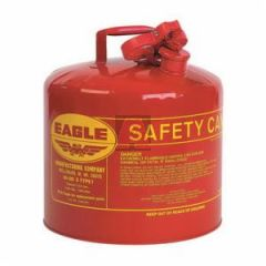 Eagle Ui-50-S Red 5 Gallon Steel Type I Safety Gas Can